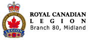 Royal Canadian Legion Branch 80